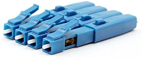 10/pcs//Beaucoup Ffth c/âble Fibre optique LC connecteur rapide connecteur LC//UPC rapide