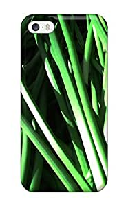 Fashion Protective Green Stems Many Contrast Nature Other Case Cover For Iphone 5/5s