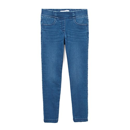 Price comparison product image La Redoute Collections Big Girls Denim Jeggings, 3-12 Years Blue Size 8 Years - 49 in.