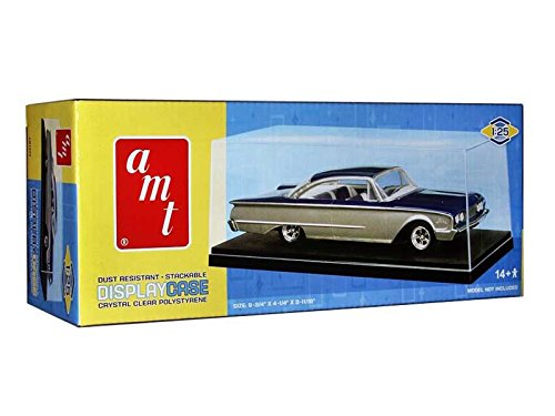 Case Stackable Diecast Display (Collectible display show case for 1/25 scale model cars by Autoworld AMT600)