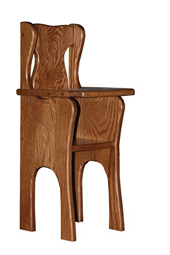 Toy Doll Oak High Chair by Furniture Barn USA