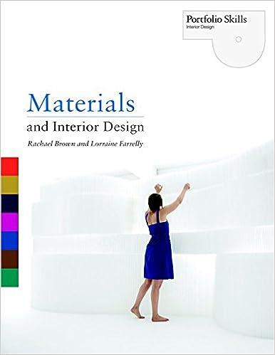 Great Materials And Interior Design Portfolio Skills: Interior Design: Amazon.de:  Rachael Brown, Lorraine Farrelly: Fremdsprachige Bücher
