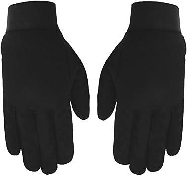 Plain Black, X-Small Hot Leathers Mechanic Gloves