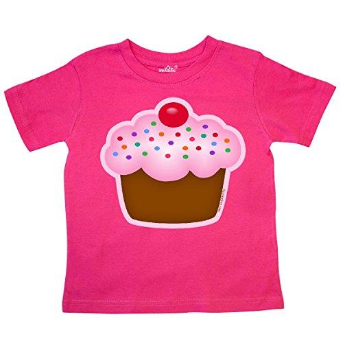 inktastic - Cupcake Toddler T-Shirt 3T Hot Pink 29b78