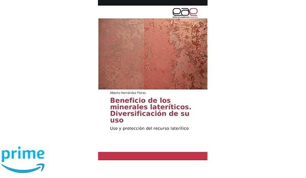 Beneficio de los minerales lateríticos. Diversificación de su uso: Uso y protección del recurso laterítico (Spanish Edition): Alberto Hernández Flores: ...