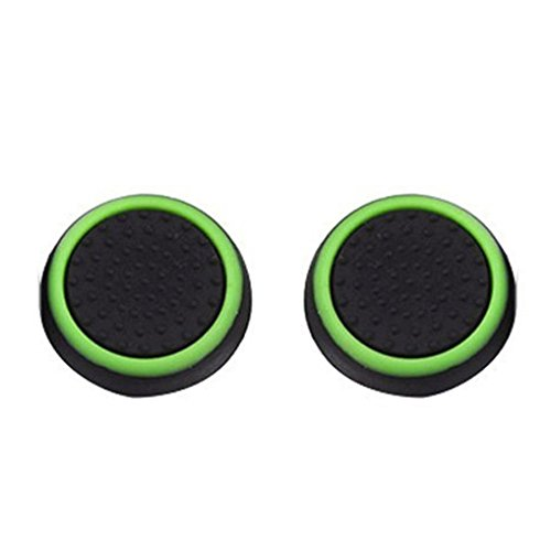 Kanzd Luminous Silicone Gel Thumb Grips Caps For Nintendo Switch Controller Replacement Controller (B)