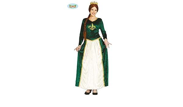 Guirca 84873 - Reina Medieval Adulta Talla XL 44-46: Amazon.es: Juguetes y juegos