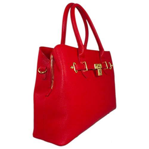 Red Metropolis Mario Valentino By Handbag nxBHBAWv