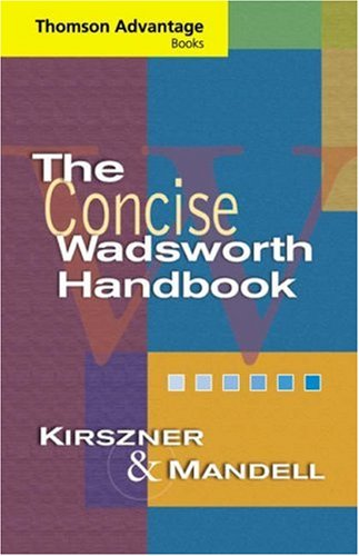 Cengage Advantage Books: The Concise Wadsworth Handbook (Thomson Advantage Books)