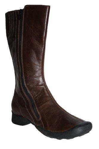 Wolky - Botas de cuero para mujer rojo rojo rojo - Braun (col. 330 brown)