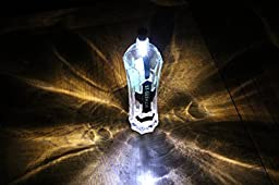Spark LED Technology 12 Lumens Wine Bottle USB Rechargeable Cork Light, White, Set of 4
