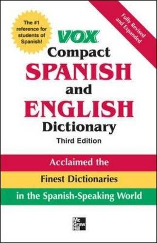 Price comparison product image Vox Compact Spanish & English Dictionary,  3E (HC) (VOX Dictionary Series)