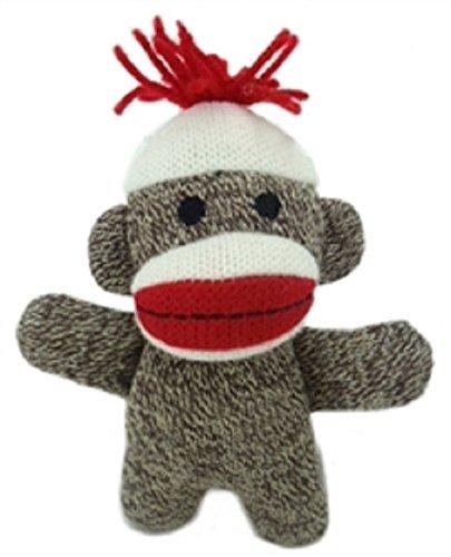 (Lulubelles Power Plush - Kiki Sock Monkey Baby)