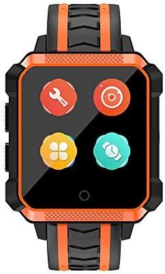 ZMM Bluetooth Reloj Inteligente Al Aire Libre Deportes Reloj Impermeable Smartwatch con Cámara SIM TF Ranura De Tarjeta De Pantalla Táctil Teléfono ...