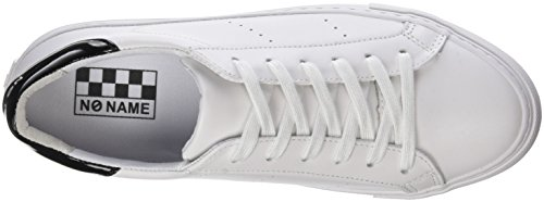 NONAME Arcade Sneaker Nappa, Basse Donna Bianco (White 01)