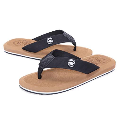 Flops Chaussures été Beige Beige intérieur Beach CS Outdoor antidérapant Chaussures Pantoufles Flip Leisure Amoureux wnpE1BqR