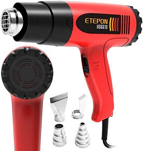 ETEPON Temperature Adjustable 120%C2%B0F 1020%C2%B0F HG6618 product image