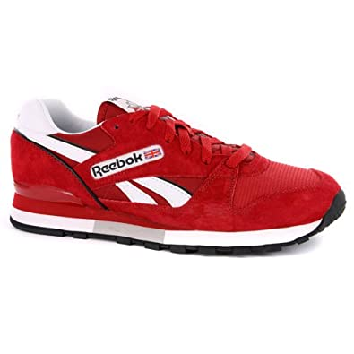 5aa25da22 Mens Reebok Classic Red Suede Leather Trainers UK 11.5: Amazon.co.uk: Shoes  & Bags