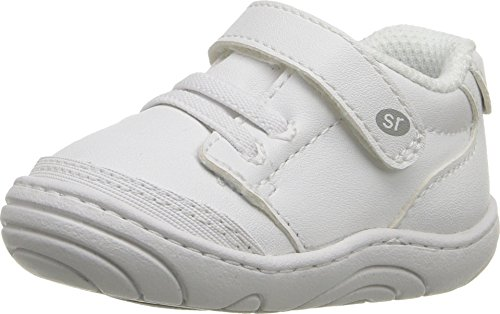 Stride Rite Unisex Taye (Infant/Toddler) White Synthetic 5 M US Toddler (5 Shoe Stride Size Girls Rite)