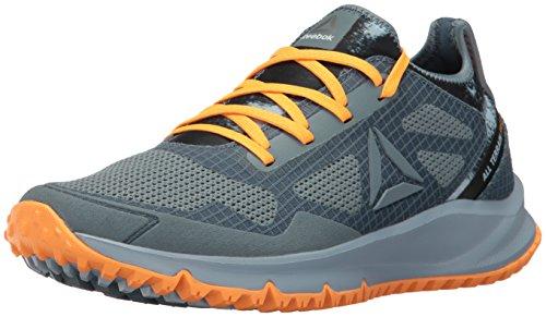 (Reebok Women's All Terrain Freedom Running Shoe Stonewash/Gable Grey/Fire Spark/Silver Metallic 6 M US)