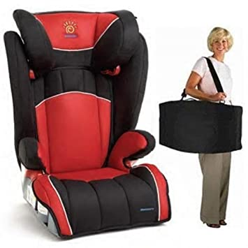 Sunshine Kids Monterey Expandable Booster Seat Comes With Free Radian  Carrying Case Red