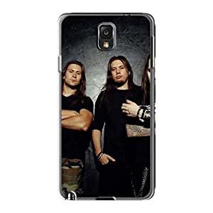 Bumper Hard Cell-phone Cases For Samsung Galaxy Note3 With Unique Design Realistic Children Of Bodom Band Image KennethKaczmarek