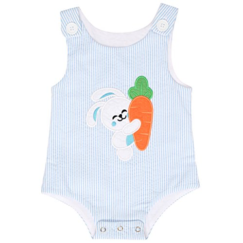 Unique Baby Boys Easter Bunny Jon Jon Outfit (12 (Easter Baby Boy Outfits)