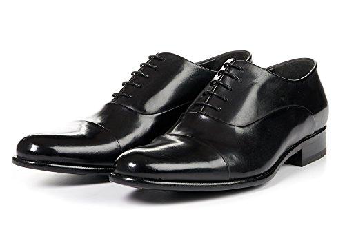 Men's Cagney Cap-Toe Oxford Shoes, Italian Calfskin Leather ()