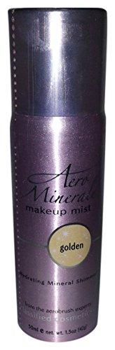Aero Minerale Shimmer Makeup Mist, Golden