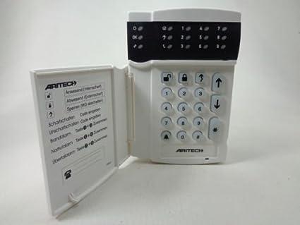 GE aritech cs5006 - Panel de control con pantalla LED ...