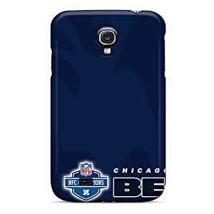 High Quality Shock Absorbing Cases For Galaxy S4-chicago Bears