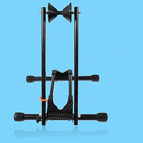 Bazaar Rockbros portable pôle double crémaillère de réparation de bicyclettes châssis de support vtt présentoir de crémaillère