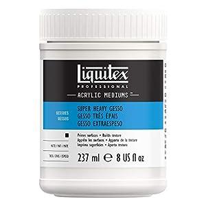 Liquitex 7808 Gesso molto denso professionale, medium, 237 ml