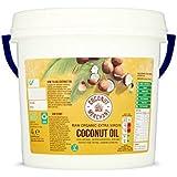 Huile de noix de coco - 4 L Huile de noix de coco biologique extra vierge et non raffinée