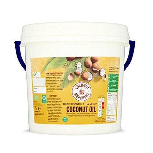 4L Aceite puro de coco virgen extra orgánico