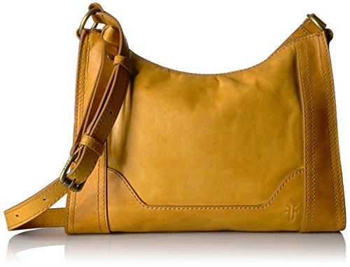 Crossbody Mustard Bag Leather Melissa Zip Frye xwCFAHgqan