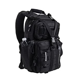 Bangbreak Smith and Wesson Lite Force Tactical Pack, Black