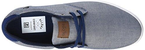 Globe Willow, Zapatillas de Skateboarding para Hombre Azul (Navy Chambray)