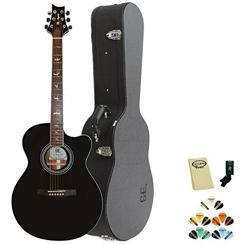 PRS 6 String Acoustic-Electric Guitar, AXE20ENA, w/Hard Case & Accessories (AXE20ENA-KIT-1)