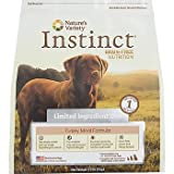 Instinct Grain-Free Turkey Meal Formula Limited Ingredient Diet Dry Dog Food by Nature's Variety, 4.4-Pound Bag, My Pet Supplies