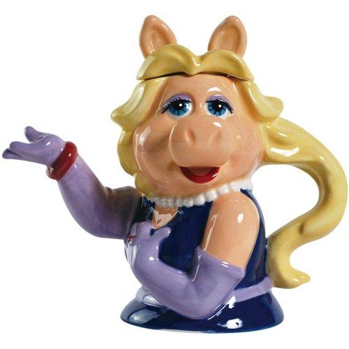 Westland Giftware Ceramic Teapot, Muppets Miss Piggy, 8-Inch