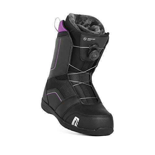 Nidecker Maya Boa Women's Snowboard Boot Size 7.5 (Black)