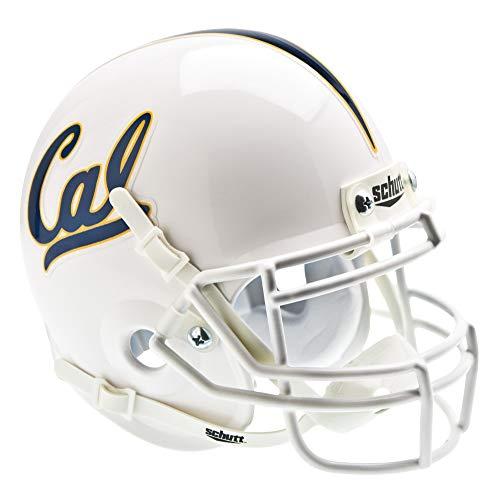 NCAA California Golden Bears Collectible Alt 1 Mini Helmet, White