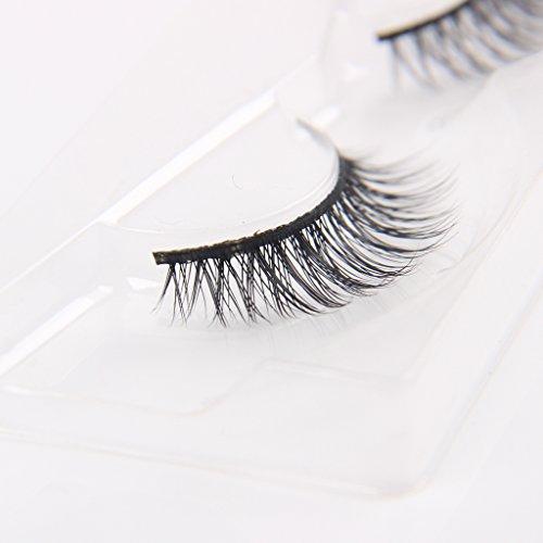 Arimika-Handmade-Lightweight-Natural-Short-Mink-False-Eyelashes-For-Makeup-1-Pair-Pack-D18