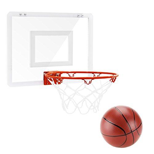 Diagonal Hoop (FAVTOY ISLAND SlamDunk Pro Shatter Resistant Backboard Over-the-Door Hoop Set [19
