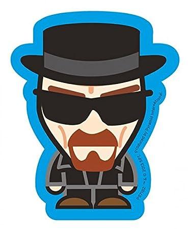 Amazon.com: Oficial Breaking Bad calcomanía – Heisenberg ...