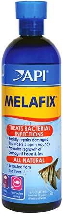 API Melafix Freshwater Fish Bacterial Infection Remedy 16 oz Bottle