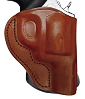 Tagua PD3-1167 Paddle Holster Open Top, Kahr PM Series 9 & 40, Brown, Right Hand