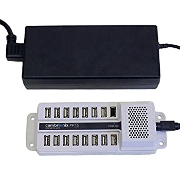 Image of Cambrionix PowerPad15S 15-Port USB Sync & Charge Station (US: DS-SC-PP15) Chargers & Adapters