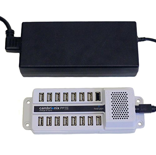 Datamation Systems Universal 15-Port USB Sync & Charge Station (DS-SC-PP15)